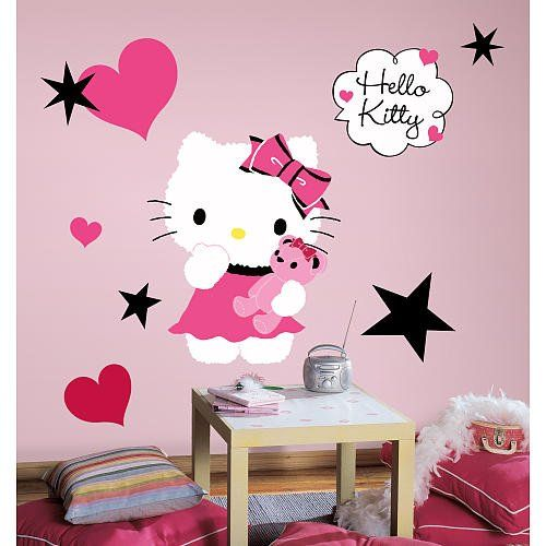 Hello Kitty Wall Decals Hello Kitty Rooms Hello Kitty Bedroom Decor Hello Kitty Bedroom