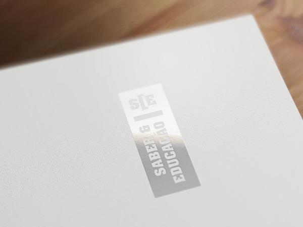 Logo Saber & Educação