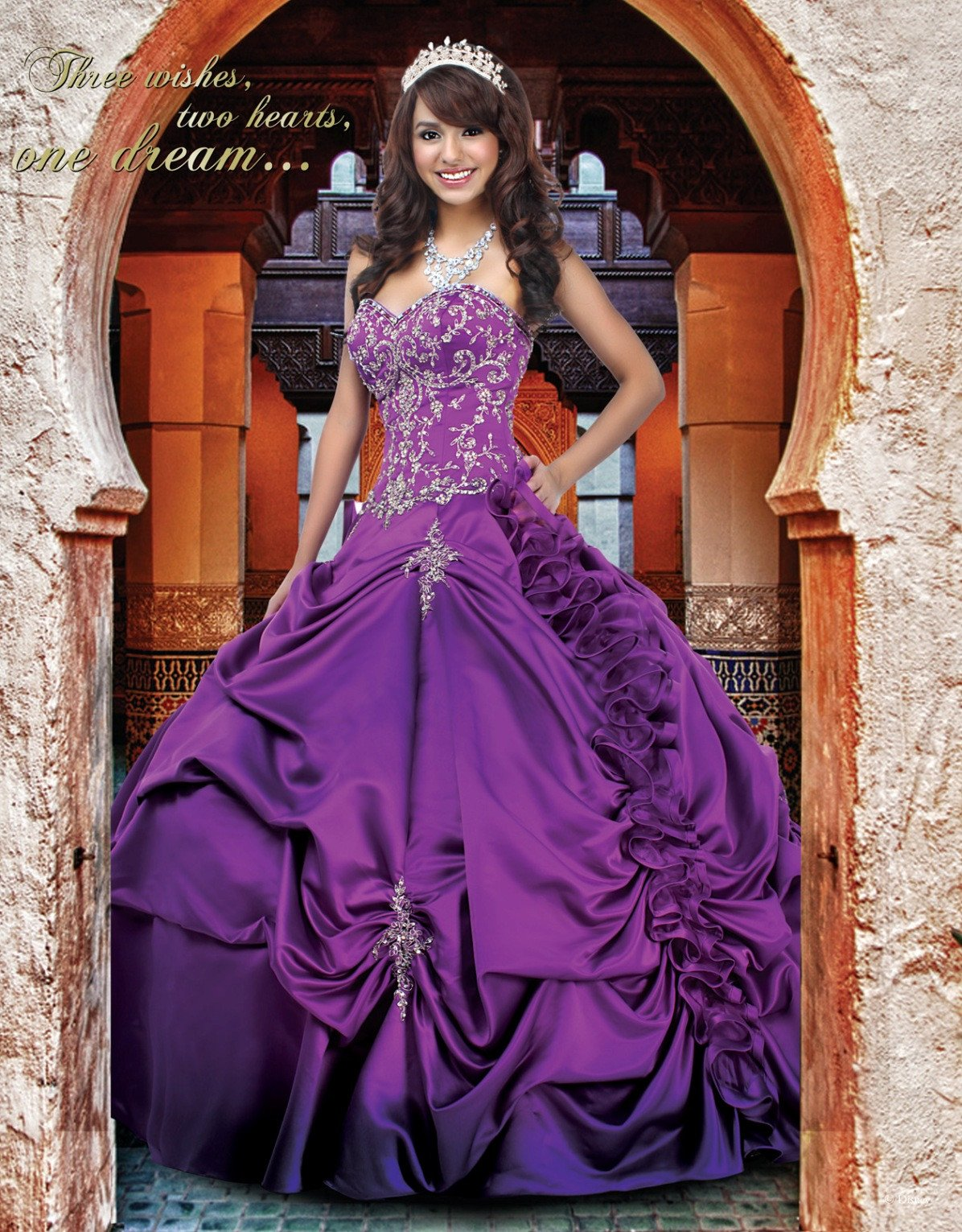 Disney Royal Ball Quinceanera Dress Jasmine Style 41006