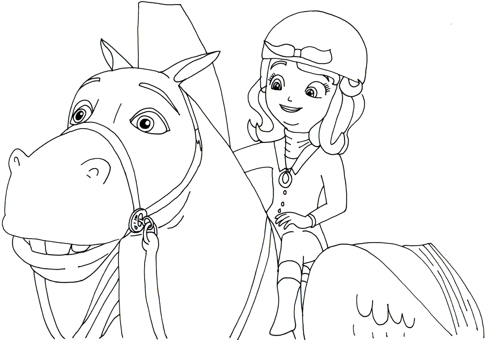 Princess Sofia Coloring Pages Games : Sofia the first coloring pages printable tagged with
