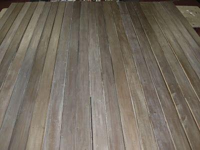Diy Making Barnwood Barn Wood Staining Wood Flooring