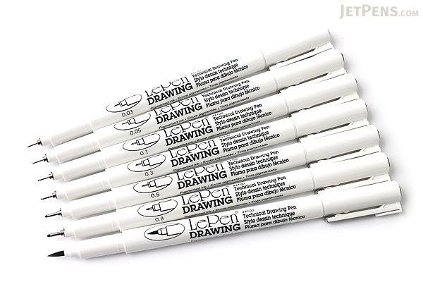 marvy le pen technical drawing pen 0 05 mm black marvy 4100