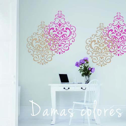 Pochoir Mural Design Ma D Coration Maison Peinture Au Sur Mur