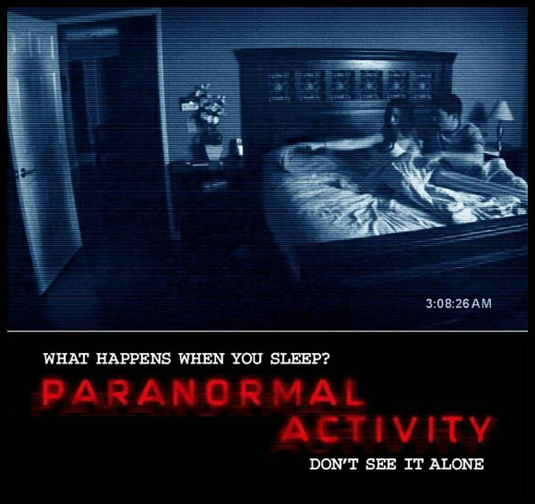 Paranormal Activity 2007 By Mr Horror13 Atividade Paranormal