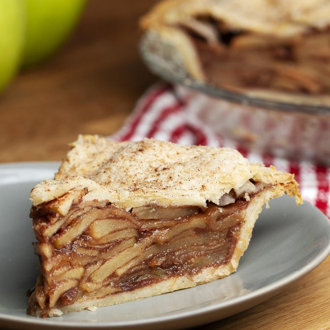 Vegan Apple Pie #applepie