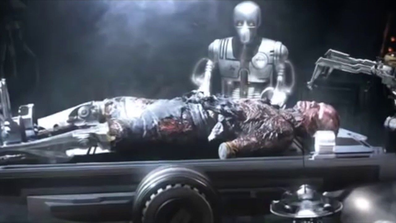 Anakin Skywalker Becomes Darth Vader Revenge Of The Sith Avec