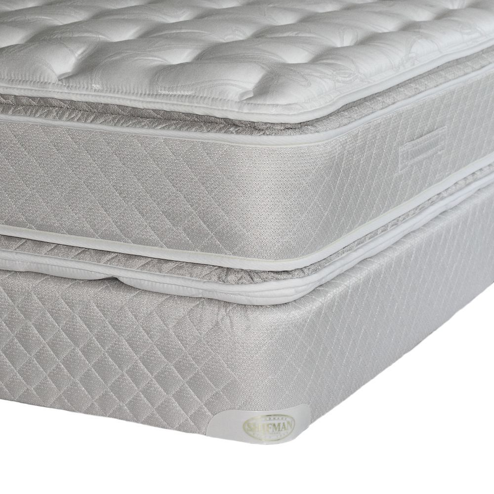 shifman anniversary collection firm pillowtop twin mattress set