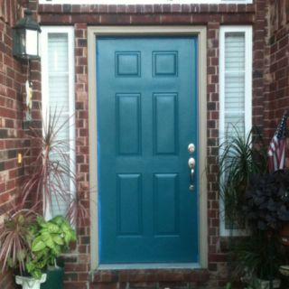Firmament Blue From Valspar Duramax My New Door Color House