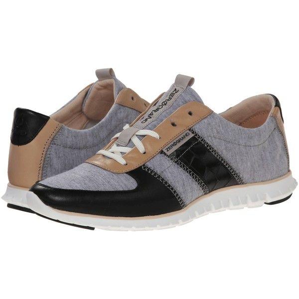 Womens Shoes Cole Haan Zerogrand Sneaker Heather Grey/Black/Black Croc