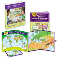 World History Map Program. MAPPING WORLD HISTORY PROGRAM  A hands on program that links world history and geography in a series of lessons using an atlas markable activit