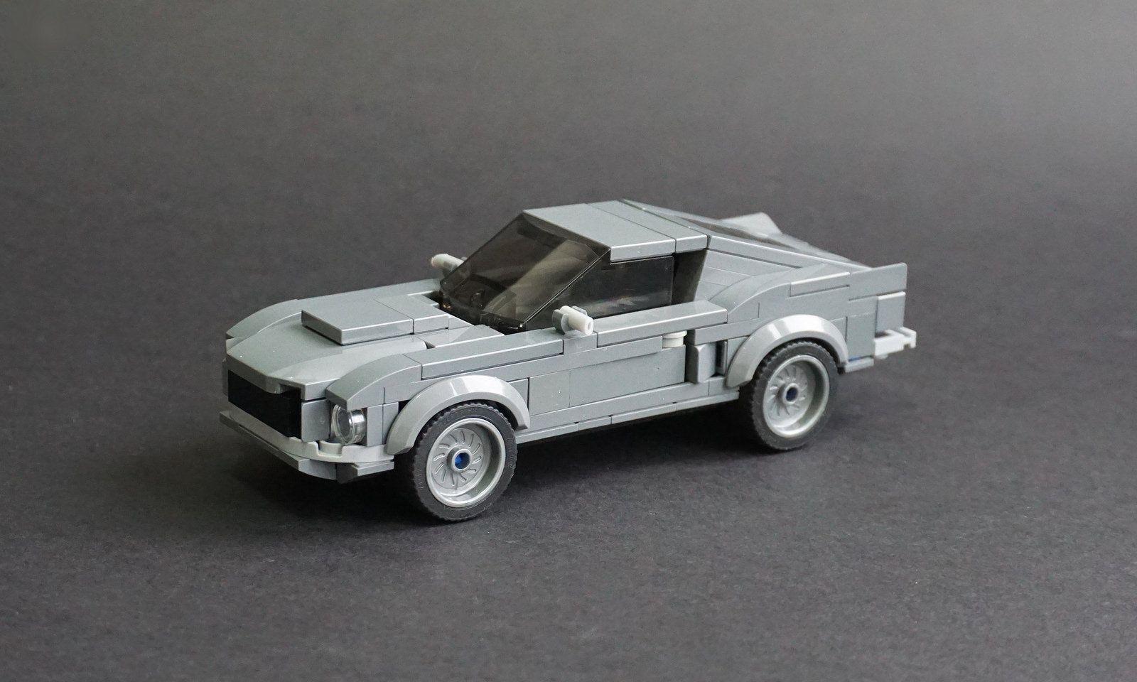 Lego 1968 ford mustang fastback 01 by jonathan ẹlliott