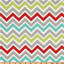 Table Runner // Zoom Zoom Twill Harmony  // Premier Prints Chevron Zig Zag. $18.00, via Etsy.