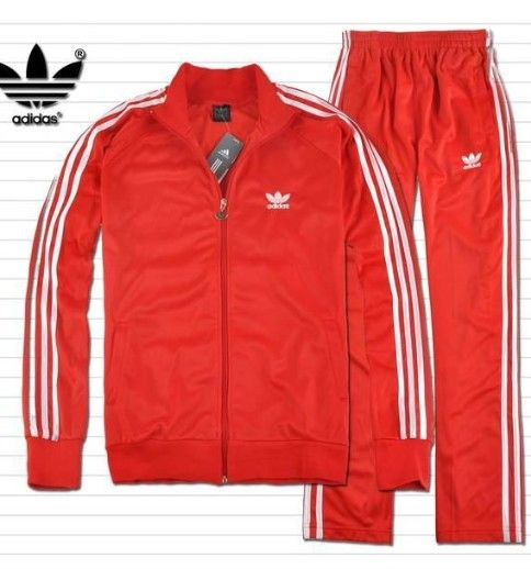 4919a5f5894d red adidas track suit - Google Search