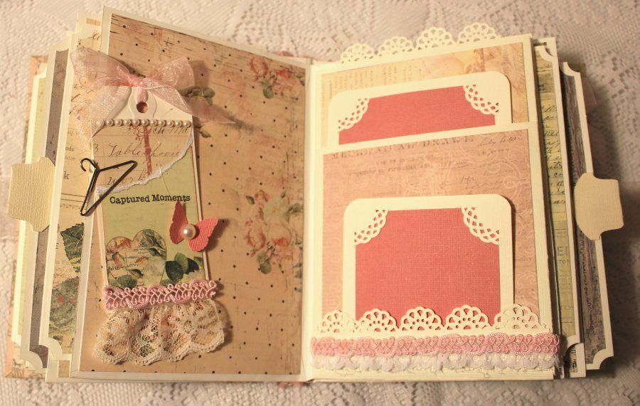 Momz Cindy A Captured Memories Roses Vintage Premade Scrapbook