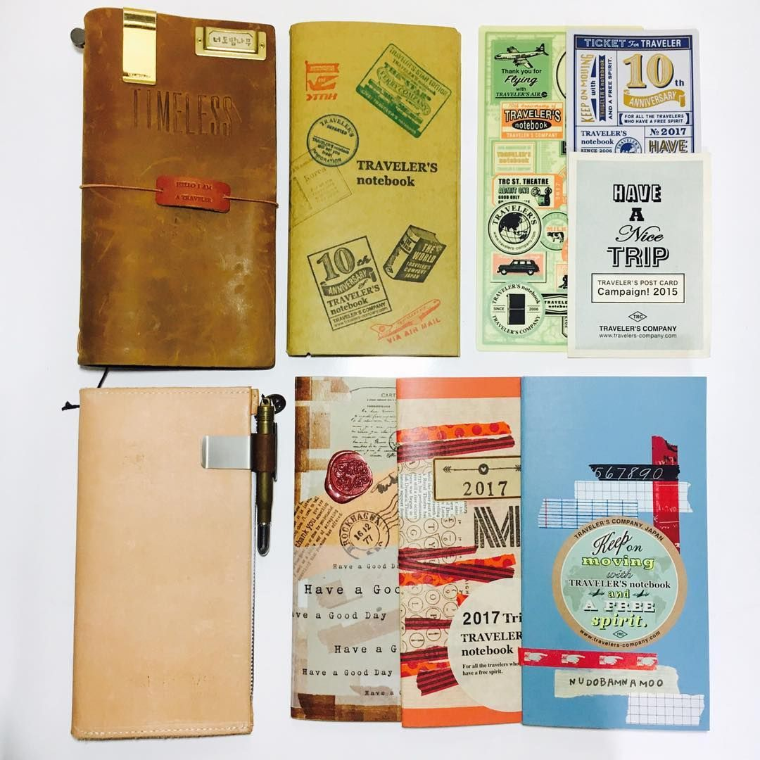 #travelersnotebook #midori #midoritravelersnotebook #travelersnote #planner #weekly #travelerscompany #journal #maskingtape #washitape #classiky #diary #트래블러스노트 #vintagestamp #tokyoantique #다이어리 #travelerstimes  크래프트파일+책받침+지퍼케이스+월간+주간+크래프트속지=저의 트노 ✍
