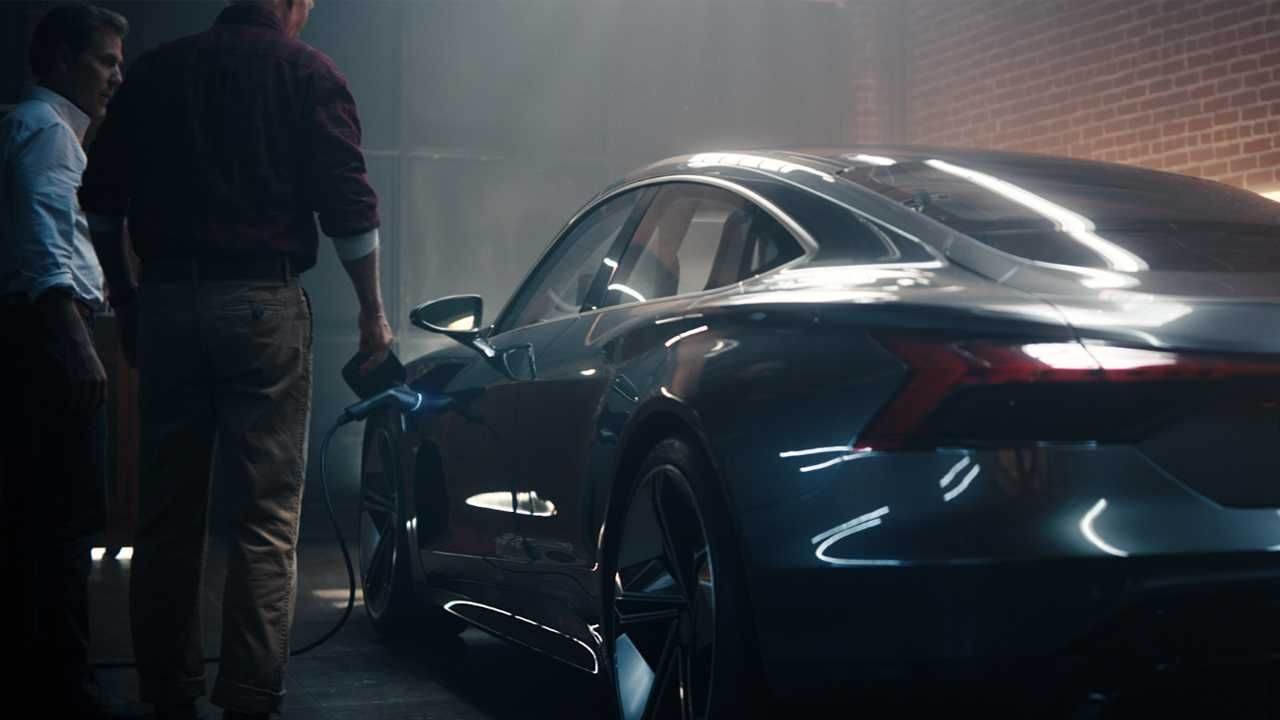 Audi E Tron Gt Super Bowl Commercial Is Dreamy Video Audi E Tron Audi Super Bowl