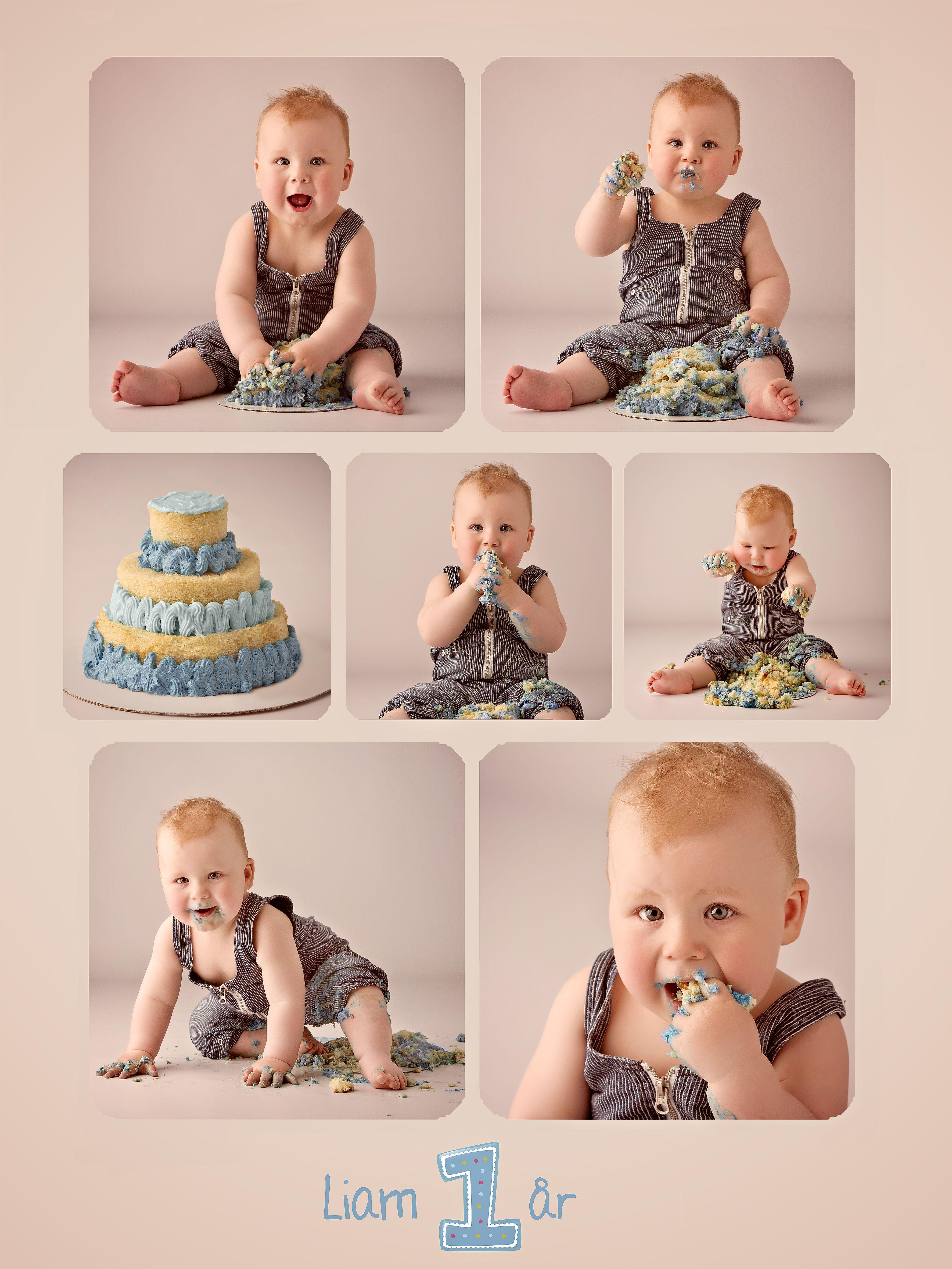 kage billede, 1 års fødselsdag, gave 1 år, cake smash, smash cake, 1 års fotografering, fotograf børn, børne billeder