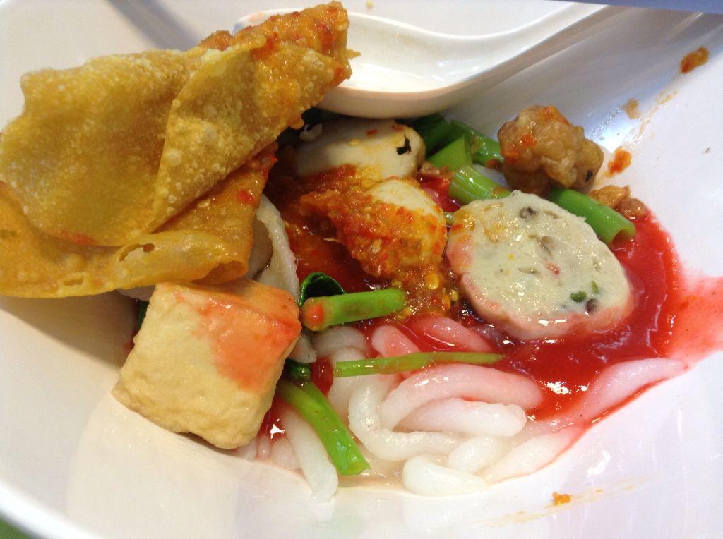 'Yentafo' thai-chinese style noodle
