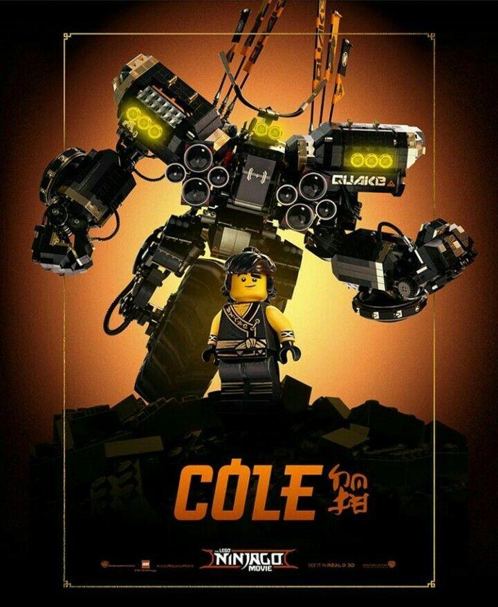 Ninjago Movie Poster Cole S Mech Legos Fondo De Pantalla De Avengers Ninja