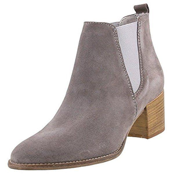 TAMARIS Damen Chelsea Boots Grau, Schuhgröße:EUR 39 | M y C