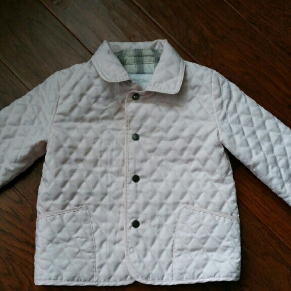 Burberry Colin Quilted Children Jacket Burberry Colin Children Ice Pale Pink Jacket The Tag Of The Size Was Removed B Kids Jacket Pale Pink Jacket Pink Jacket