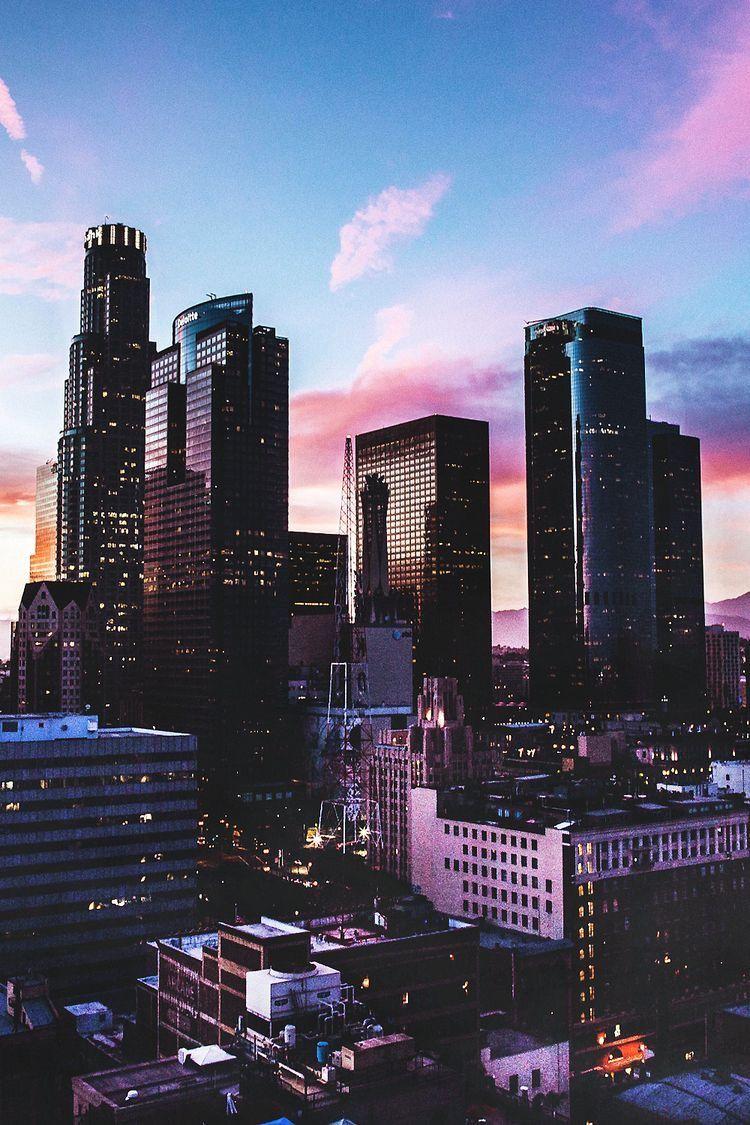 Los Angeles Ca California Fotografia Di Città Sfondi E
