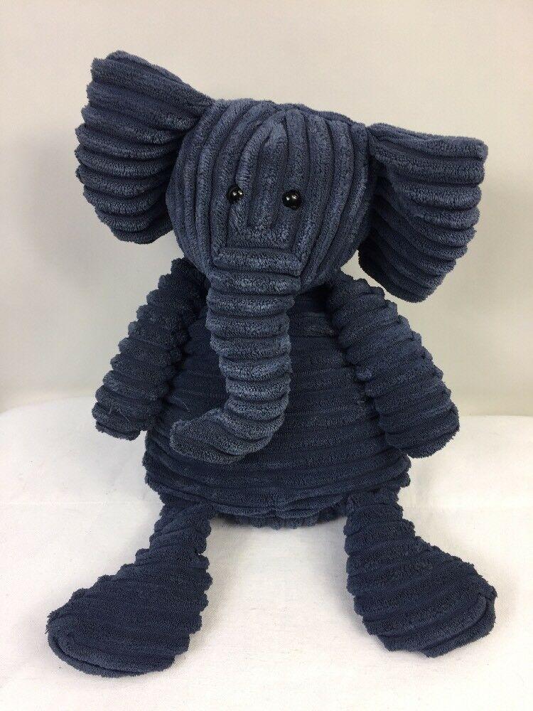 Jellycat Corduroy Cordy Roy Navy Blue Elephant Plush Stuffed Animal 16 Lovey Jellycat In 2020 Blue Stuffed Animals Elephant Plush Plush Stuffed Animals