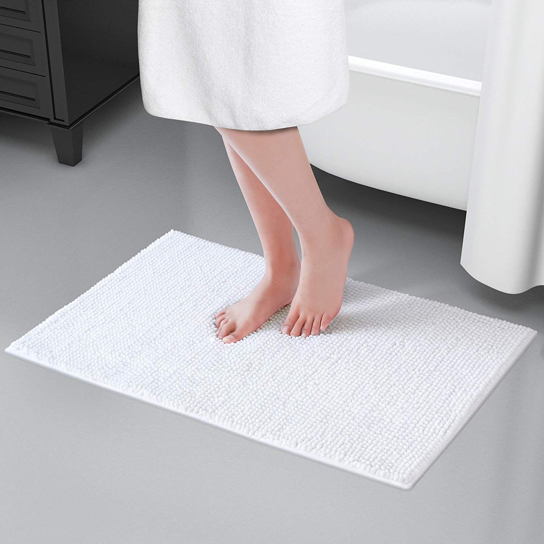 Pin By Anni Frasnelly On Apartment Bathroom Shower Mat Bath Mat