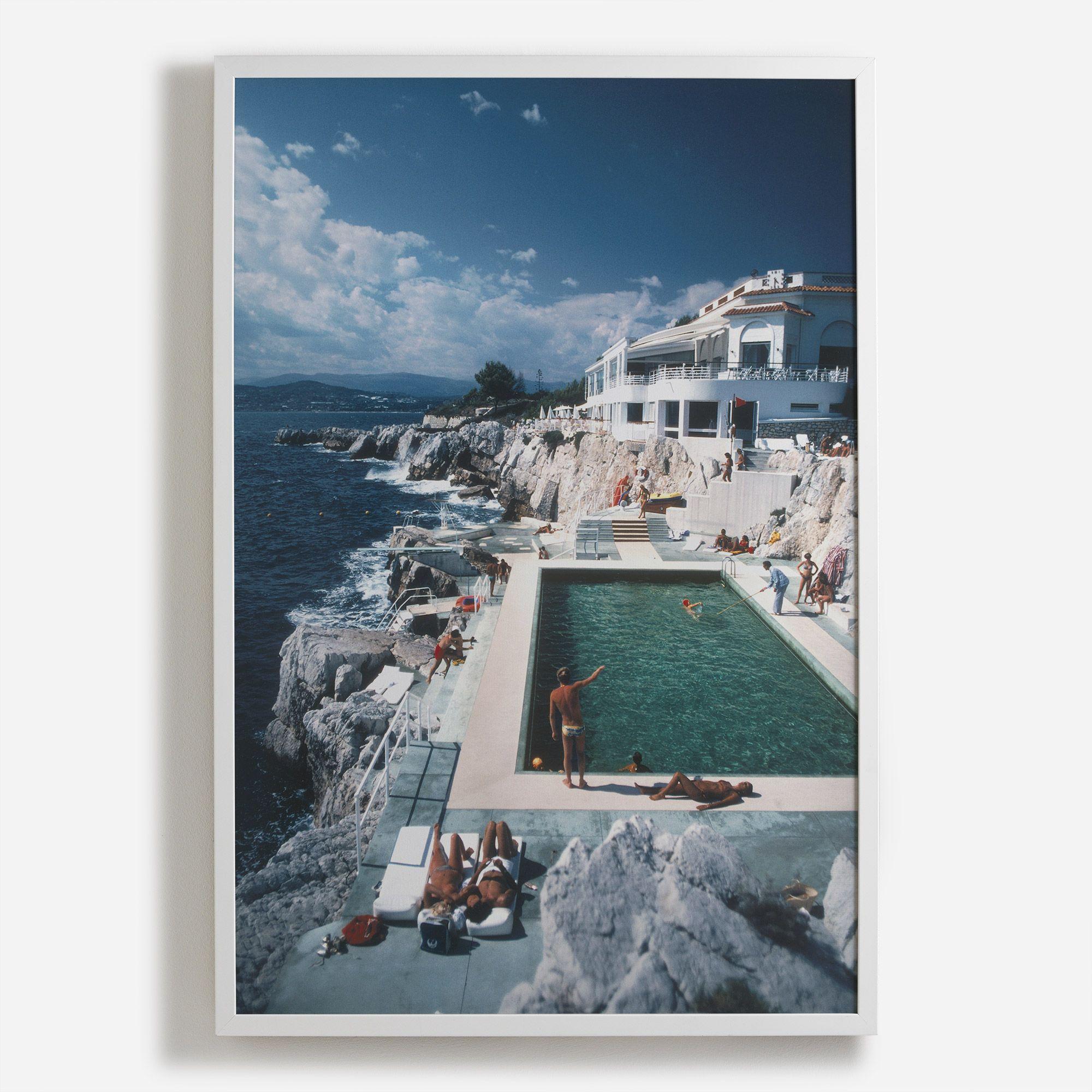 Hotel du Cap Eden Roc\' Framed Print - Slim Aarons Collection | Shop ...