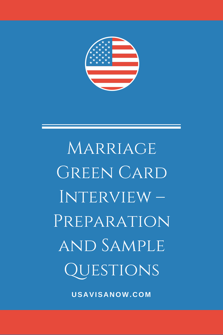 green card interview  preparation and sample questions