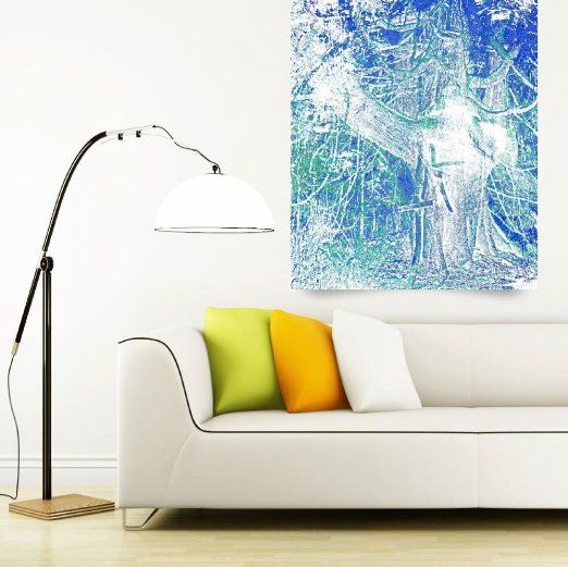 Amazon.com - Ancient Tree in Blue (Giclee Art Print), John Fish -