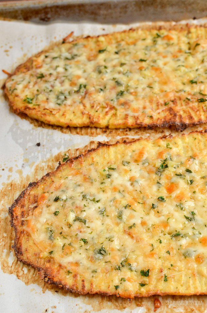 Slimming Eats Son Free Cheesy Cauliflower Garlic Bread Gluten