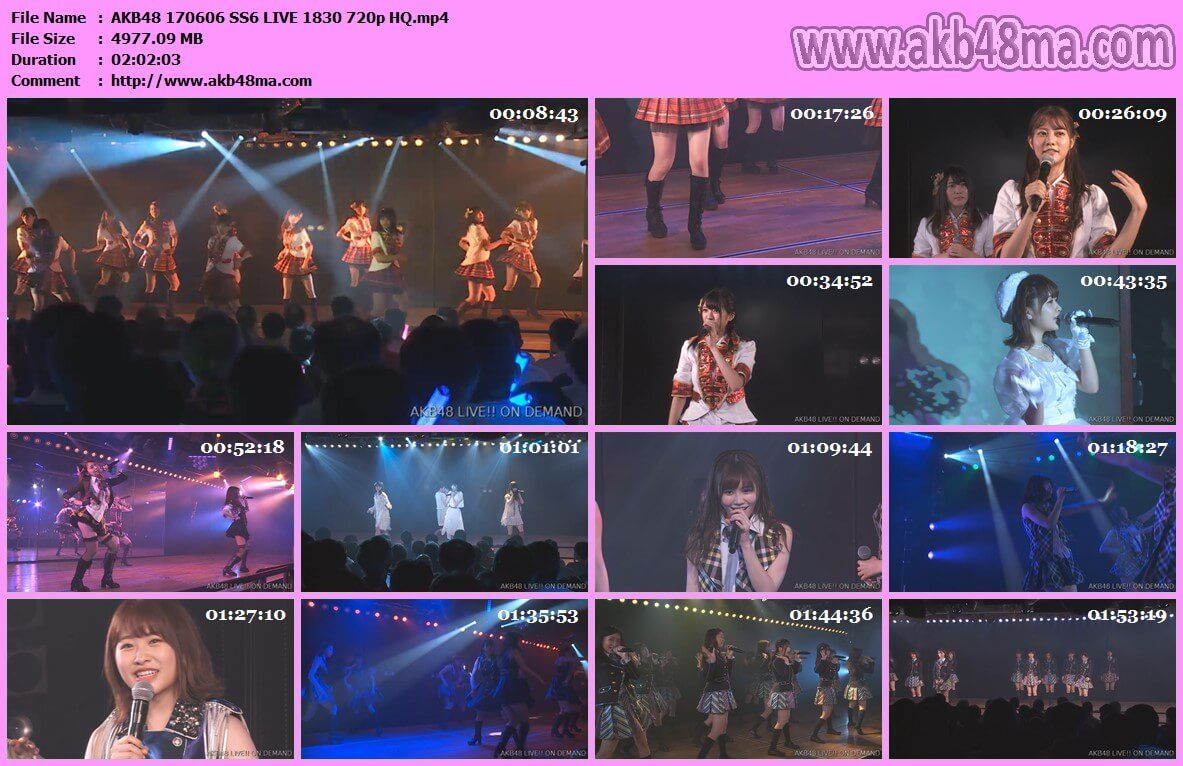 公演配信170606 AKB48 外山大輔ミネルヴァよ風を起こせ公演