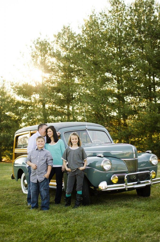 Family photo- Car