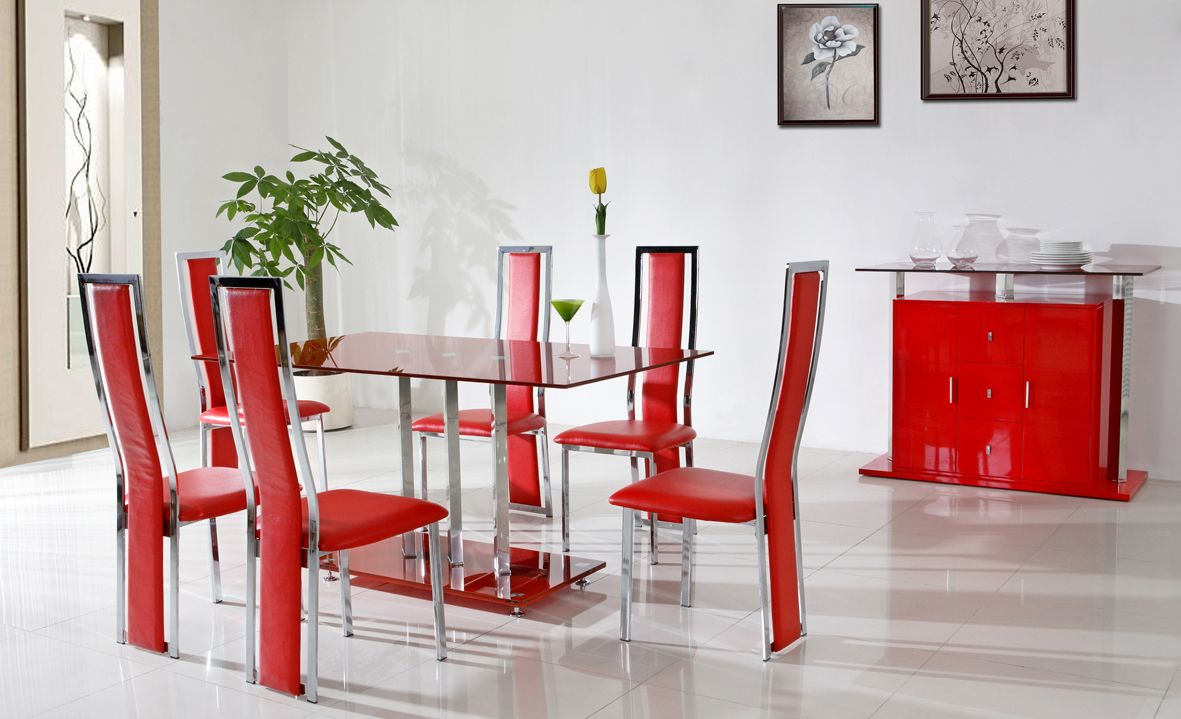Red Dining Room Sets 1000 Images About Dining Room On Pinterest Grey Carpet Red