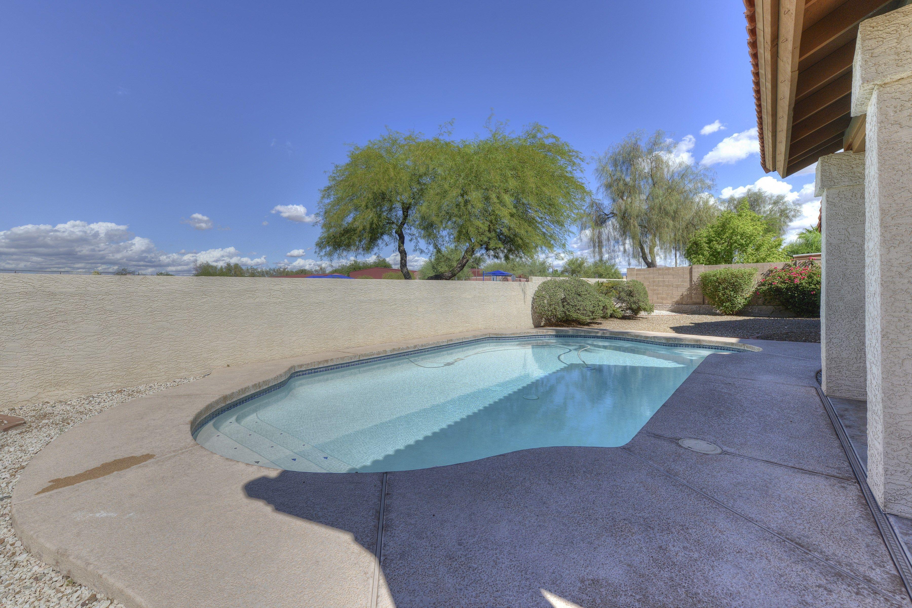 Mountainview Ranch Scottsdale Arizona-  Backyard Pool