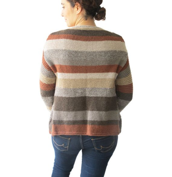 The sweater is perfect for all seasons.  Made with 6 different colour 50% wool 50% acrylic anti allergic yarn.  Perfect addition to your feminine style.    Size: M, L, XL  Cleaning: Machine wash under 30 degrees on gentle cycle and lay flat to dry.