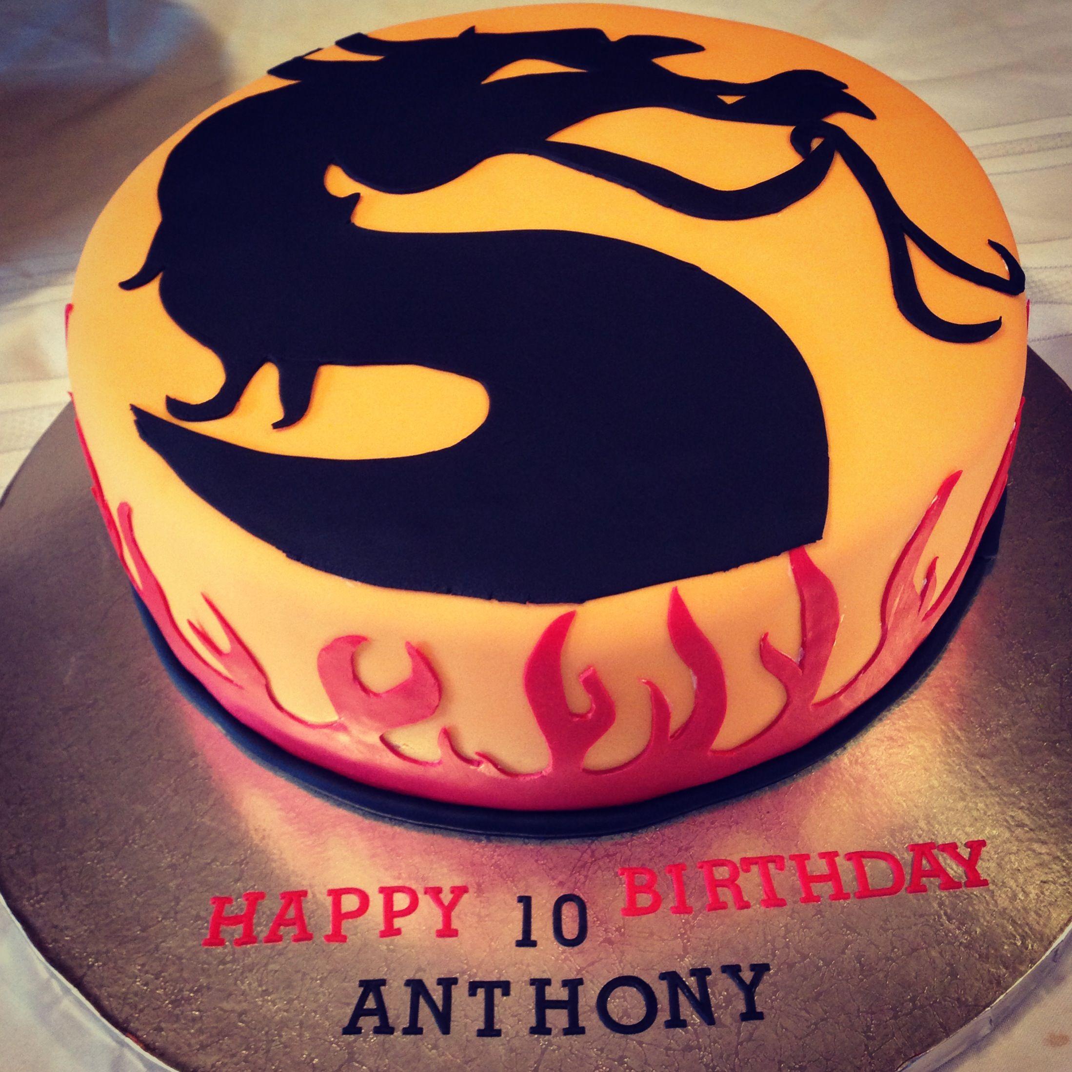 Mortal Kombat Cake My Creations In 2018 Pinterest Cake