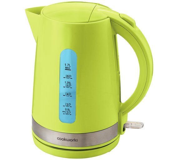 Buy Cookworks Illumination Kettle - Green at Argos co uk