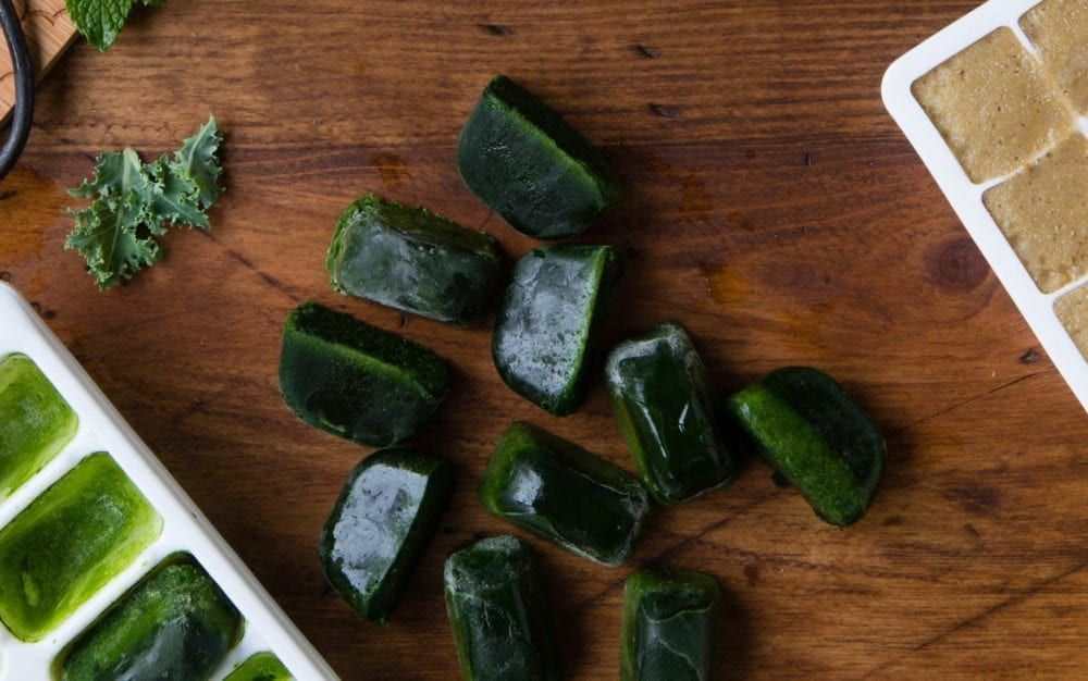 How to Freeze Spinach (or any other leafy green) (With
