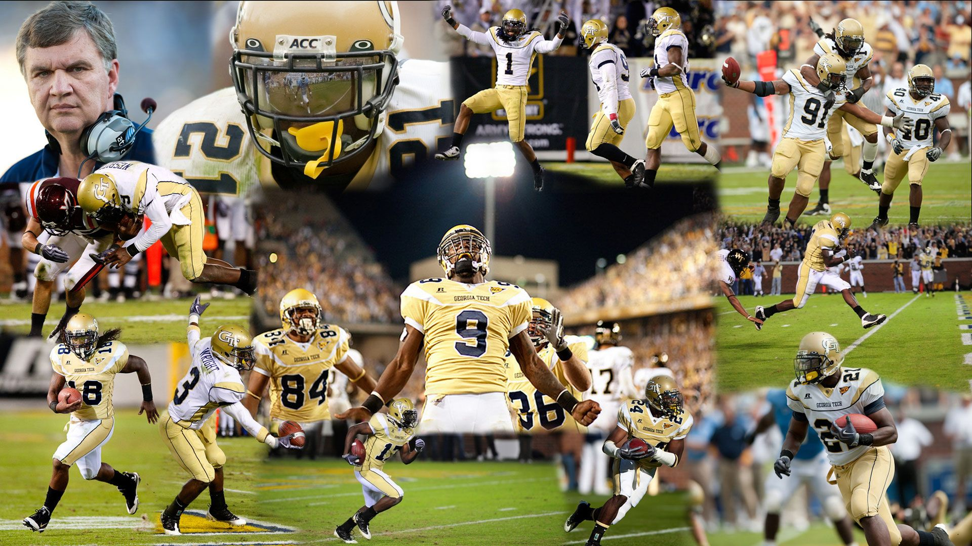 collection of georgia tech football wallpaper on hdwallpapers 1920, Powerpoint templates