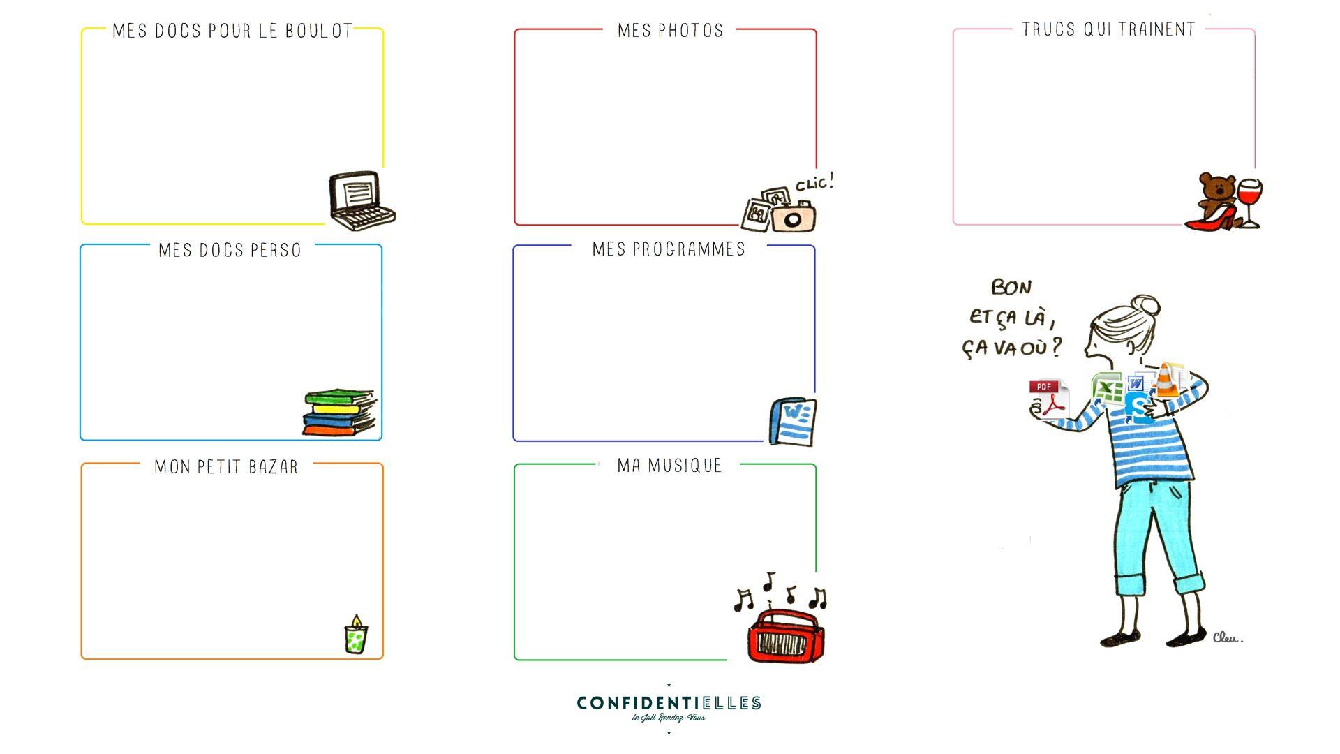 Organiser Son Bureau D 39 Ordinateur S 39 Organiser Pinterest Bureaux Articles Et Fils