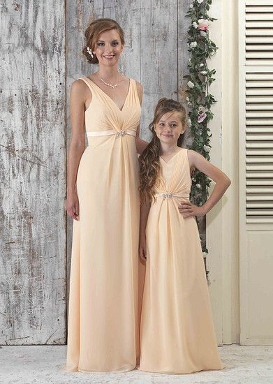 Matching Bridesmaid And Junior Dresses Google Search
