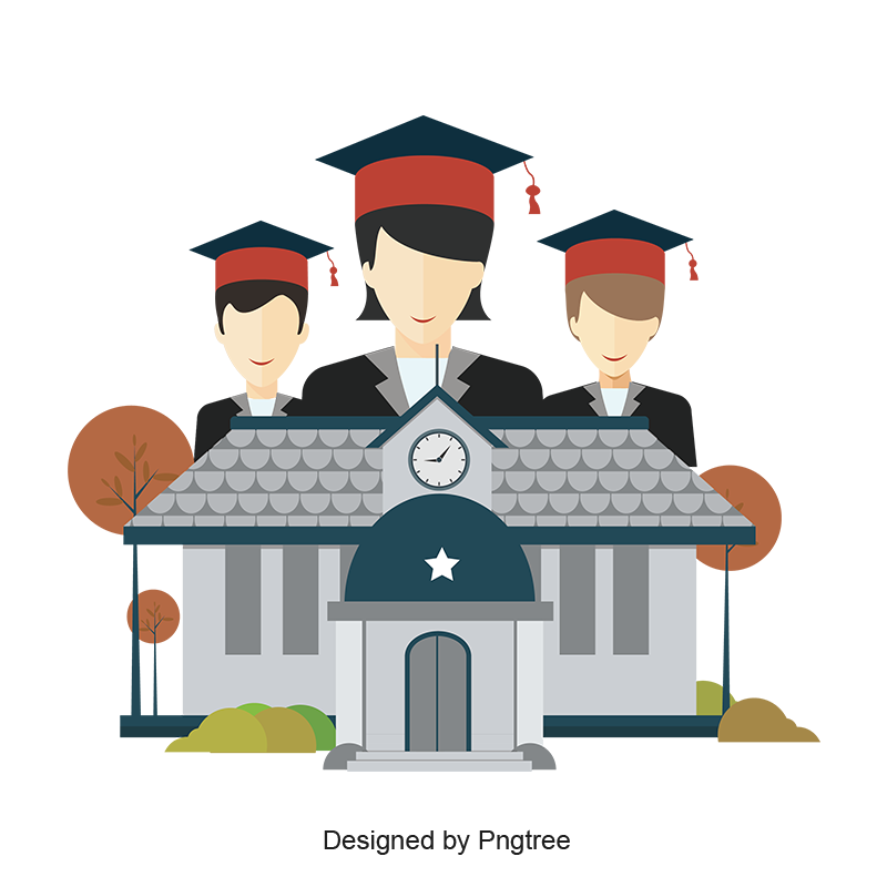 Graduate Material Design For School Students Graduation Education Celebration Png And Vector With Transparent Background For Free Download Design Student Certificates School Chalkboard