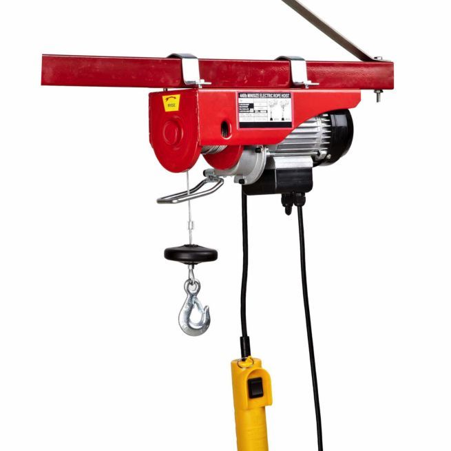 traveller� electric hoist, 220/440 lb  - tractor supply co