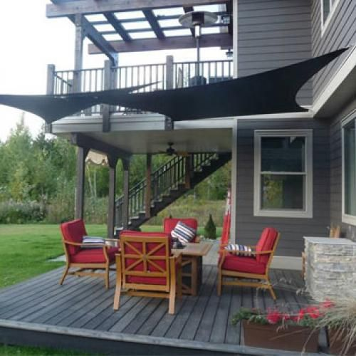 Shade Sails For Back Deck