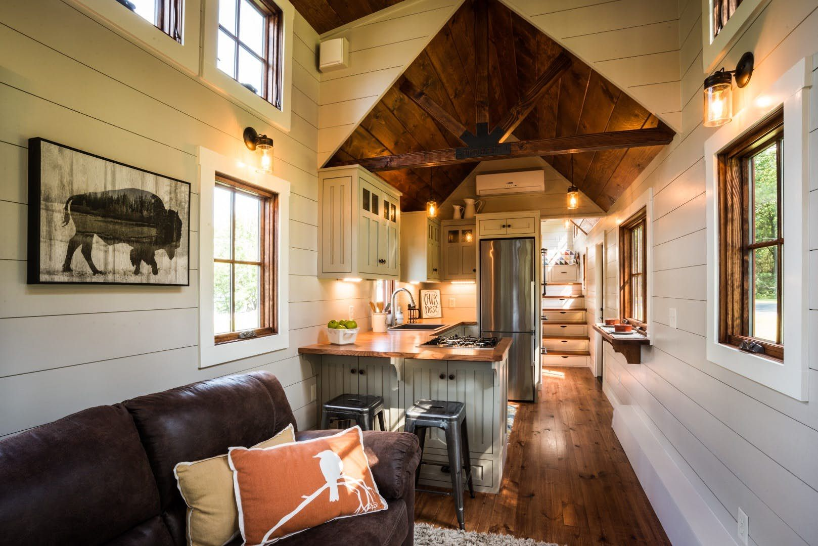 Denali Tiny House Makes Small Living Feel Much Less