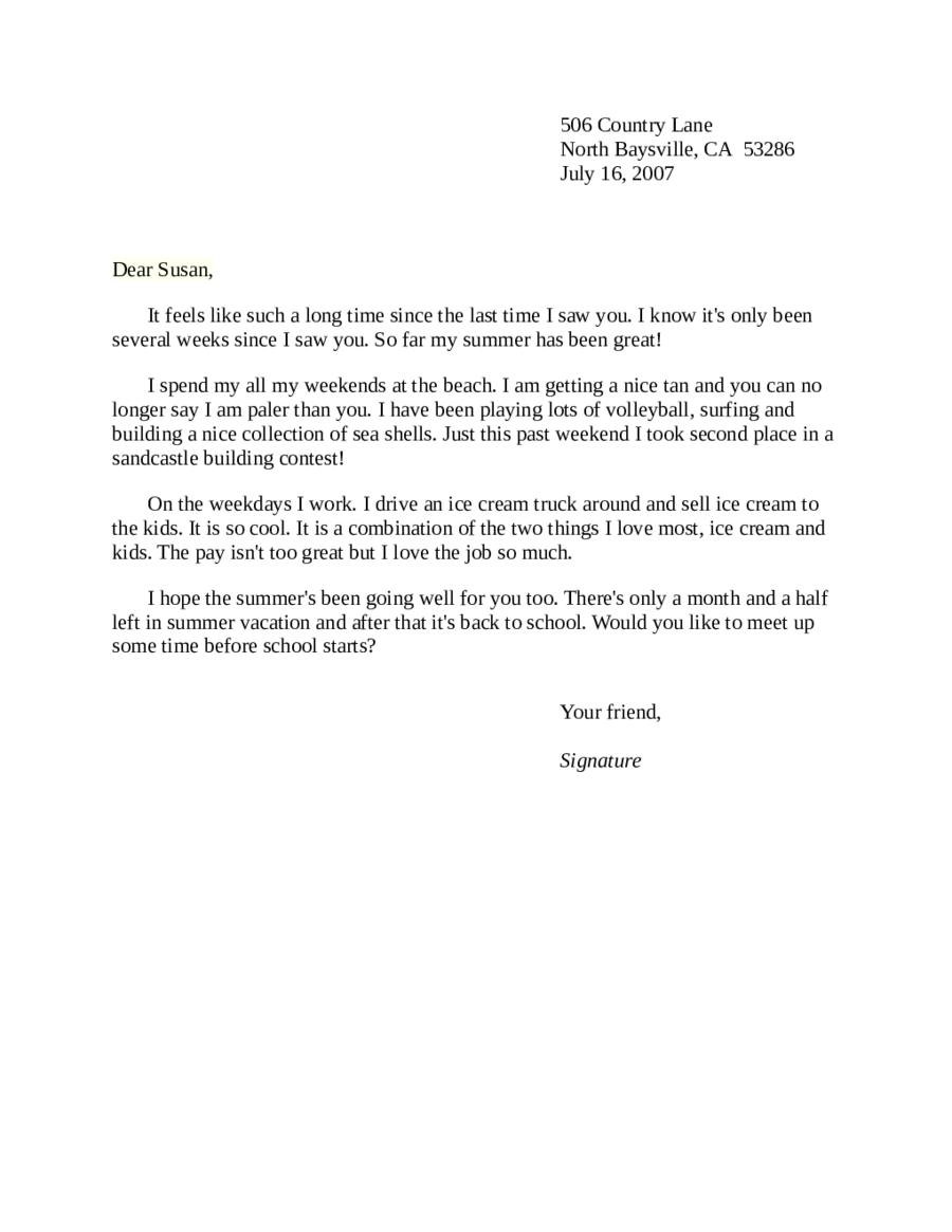 Friendly letter 02 education pinterest friendly letter friendly letter 02 spiritdancerdesigns Images