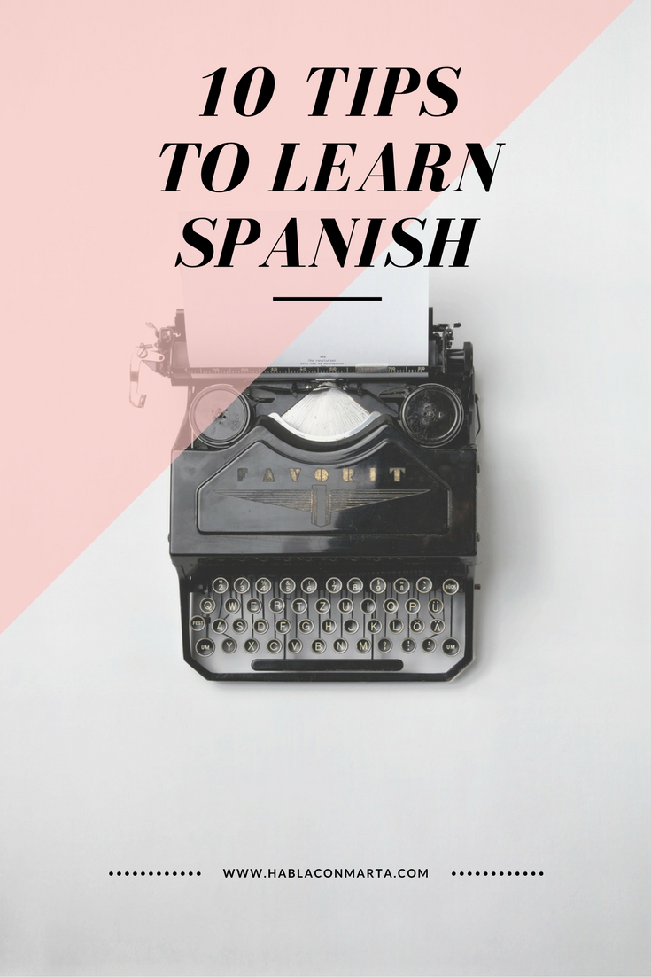 Do you want to learn Spanish faster? Check out these tips! :) | Tips ...
