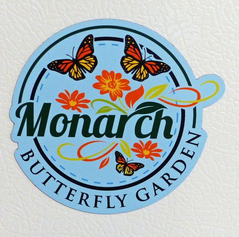 Monarch Erfly Garden Refrigerator